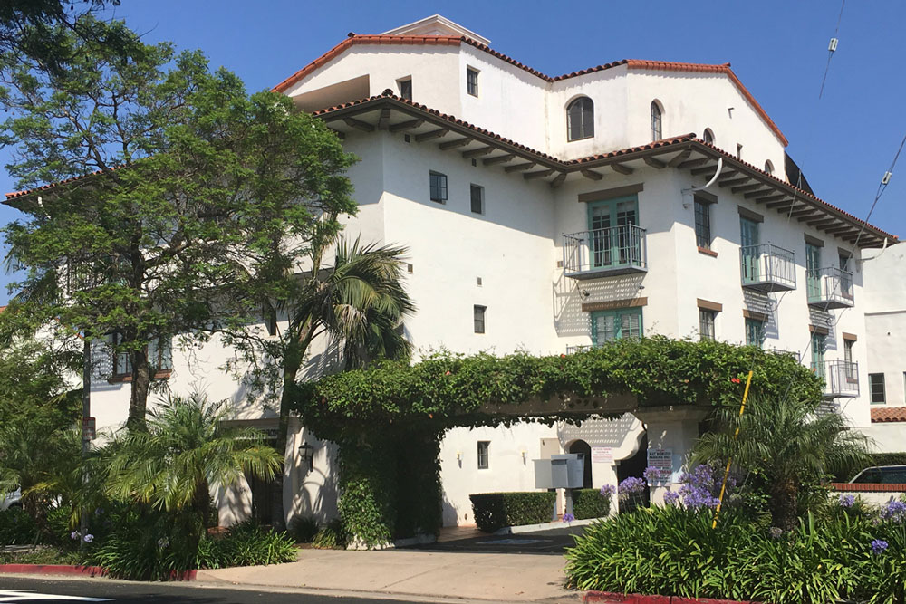 The Santa Barbara City Council will hear an appeal Tuesday regarding a plan to to legally convert a fourth-floor residence into a short-term vacation rental/hotel at 101 W. Anapamu St.