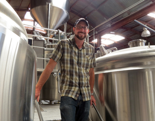 <p>Telegraph Brewing Co. founder Brian Thompson says his Santa Barbara company (and the new tanks pictured) will be able to eventually make eight times as much beer by moving into the larger building next door to its original location at 416 N. Salsipuedes St. He hopes to open at the new location to the public by Labor Day weekend.</p>