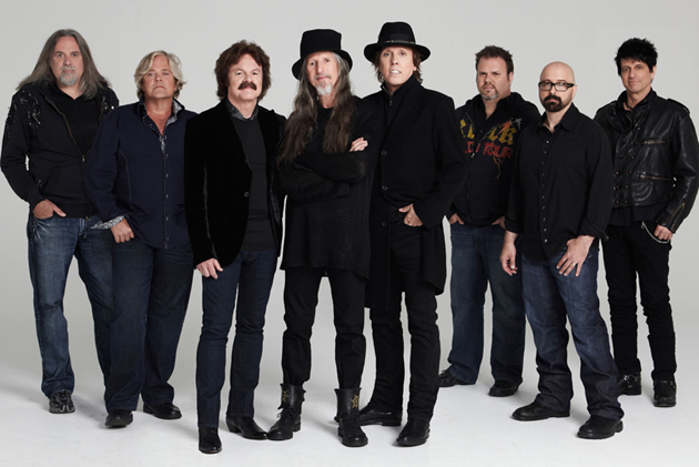 <p>The Doobie Brothers will be performing at the California Mid-State Fair in Paso Robles on July 25. From left are Marc Russo, John Cowan, Tom Johnston, Patrick Simmons, John McFee, Ed Toth, Guy Allison and Tony Pia.</p>