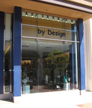 By Design, now open in La Cumbre Plaza, offers design and in-home staging services, and specializes in eco-friendly products