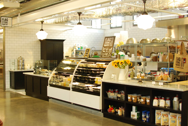 <p>Flagstone Pantry has opened a full kitchen and retail outlet at the Santa Barbara Public Market on West Victoria Street.</p>