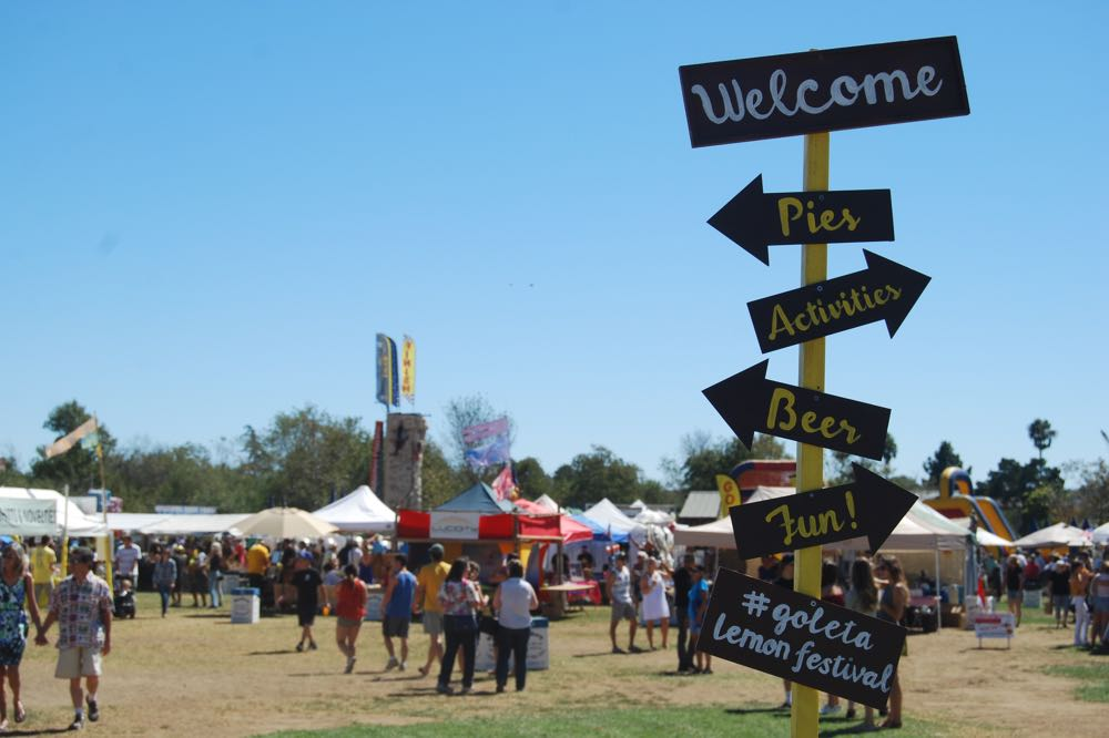 All signs point to fun at the California Lemon Festival in Goleta.