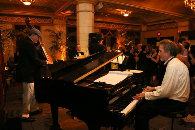 <p>Each month different local musicians join Winston's Royal Roost House Band for a lively night of music and dancing.</p>