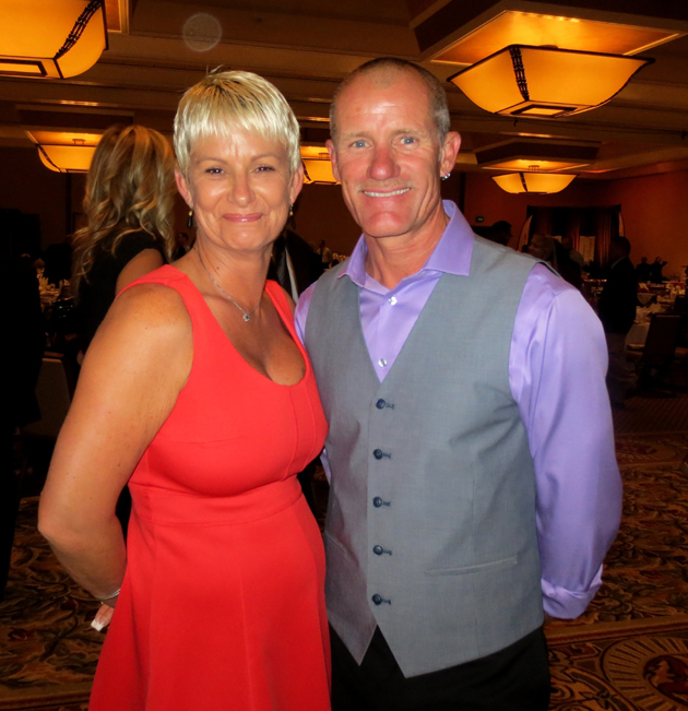 Wayne Motyer of Schipper Construction with his wife, Donna.