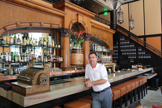 Viva Santa Barbara Modern Mexican Cuisine opened in La Arcada last month, at 1114 State St., and is owned by Brendan Searles, pictured, Karen Phillips and Sean Hecht.