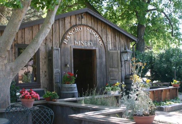 Rancho Sisquoc Winery's historic farmhouse, outbuildings and vintage barn were built in the early 1900s. (Susie Baum photo)