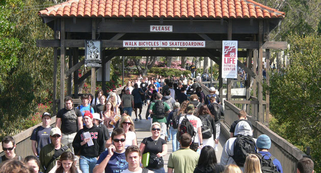 "<p>SBCC officials have been working on ways to quell and prevent violence taking place in Isla Vista, where many of the college&#8217;s students live. ""We don't think being 13 miles from campus is in the best interest of students, but we can't stop it,"" SBCC President Lori Gaskin says.</p>"