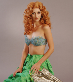 Lesley McKinnell plays Jenny Lind and The Little Mermaid in PCPA Theaterfest's My Fairytale.