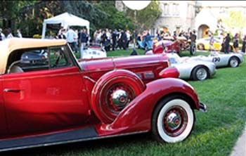 The Santa Barbara Concours d'Elegance will feature about 200 vehicles, including Italian cars and U.S. classics, muscle cars, hot rods and custom vehicles