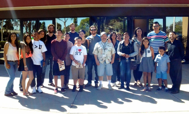 <p>Santa Maria High School Chicano/Latino studies students attend a PCPA Theaterfest performance of <em>The San Patricios</em>.</p>