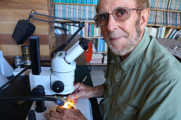 <p>James Kennett, professor emeritus in UCSB&#8217;s Department of Earth Science.</p>