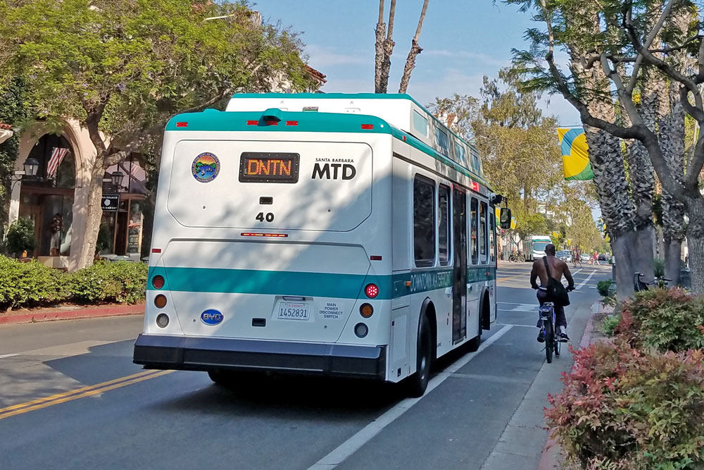 In a move designed to boost ridership, the Santa Barbara Metropolitan Transit District is looking to launch a 1-day pass for people who ride the Downtown-Waterfront Shuttle. The cost will be $1.