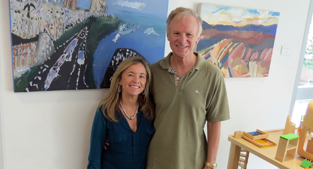 <p>Lynn and Robert Koegel, the namesakes of UCSB&#8217;s Koegel Autism Center, are set to publish a study focused on improving socialization for college students on the autism spectrum. The walls of the autism center are covered with paintings created by former student Kevin Hosseini.</p>