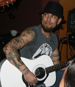 Dave Navarro of Jane's Addiction.