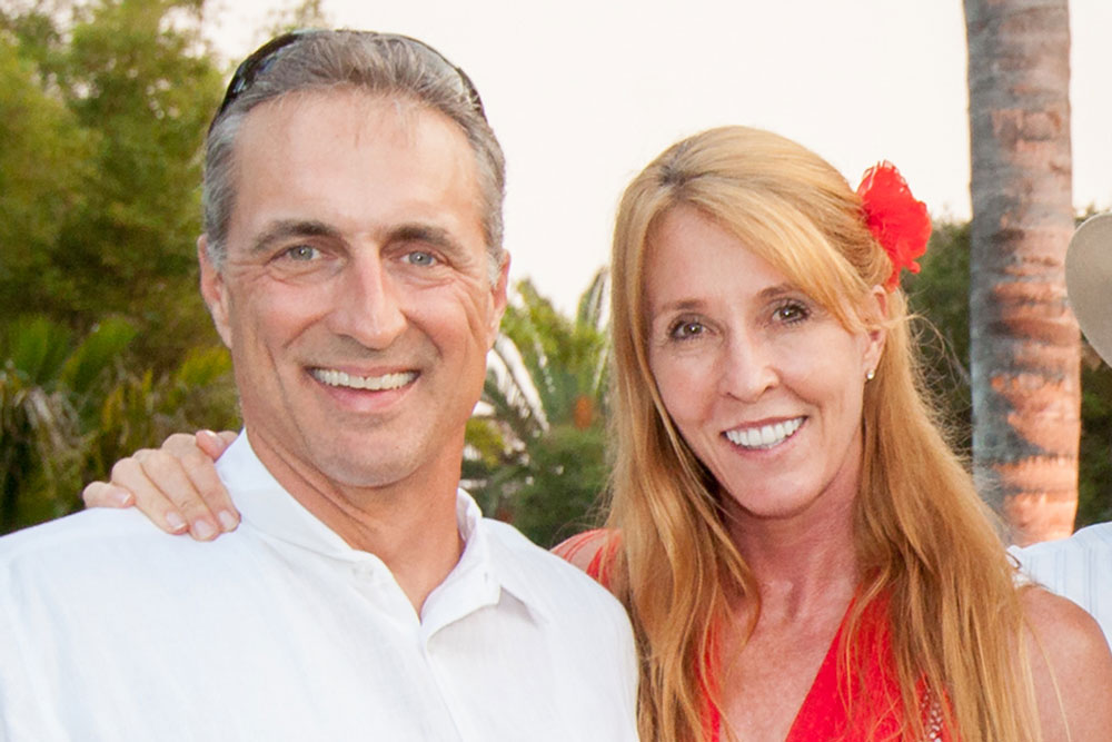 Santa Barbara Police Chief Lori Luhnow and her fiancé, Marc Homan, did Old Spanish Days in style during last month's Fiesta Celebracion de los Dignatarios at the Santa Barbara Zoo. (Fritz Olenberger / Old Spanish Days photo)
