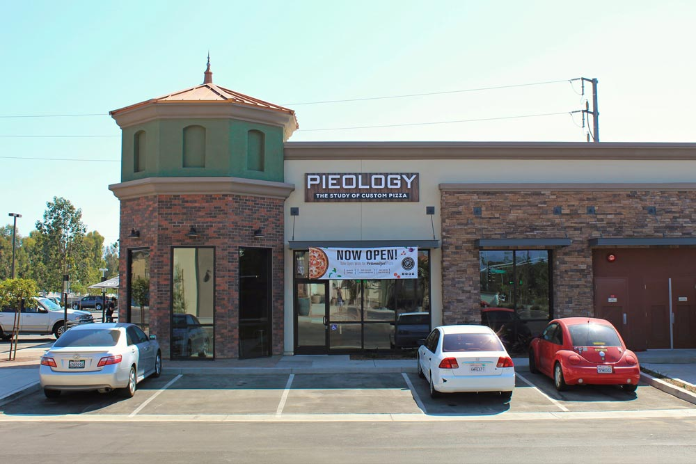 Pieology, which opened last weekend in Goleta's Hollister Village, allows patrons to customize their pizzas with more than 40 different topping options.