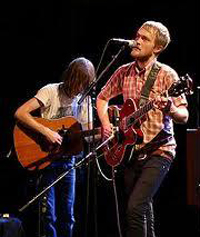 Two Gallants, seen performing in Paris in 2007, brought a mix of new and older songs to the SOhO Restaurant & Music Club on Friday night. (Wikipedia photo)
