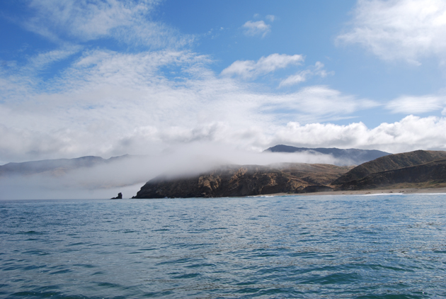 <p>The far side of Santa Cruz Island is rugged and hauntingly beautiful.</p>