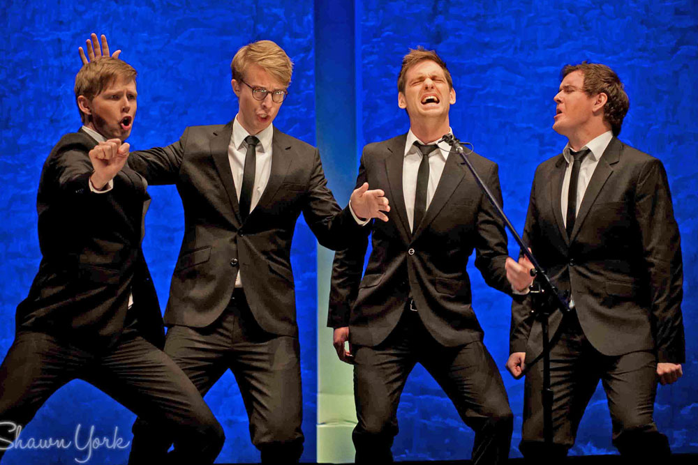 A Swedish quartet called the Ringmasters will be featured Saturday at a fundraiser a cappella concert at the Marjorie Luke Theatre in Santa Barbara.