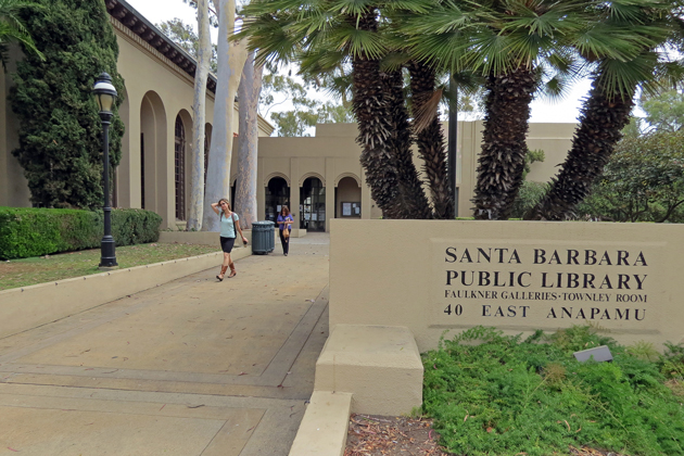 The Historic Lands Commission on Wednesday debated the design of renovations coming to the Santa Barbara Central Library downtown.