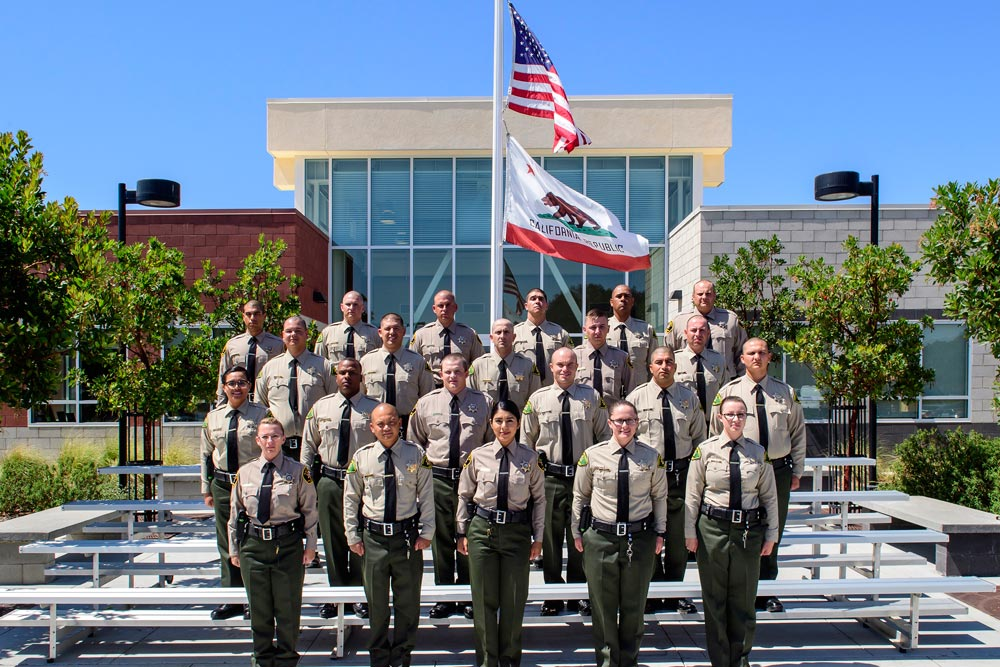 The first graduating class of Allan Hancock College's CORE Custody Deputy Program included deputies for sheriff's departments in Santa Barbara and San Luis Obispo counties.
