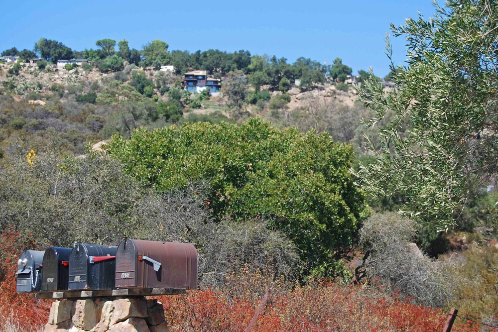 Painted Cave is one of the communities where Los Padres National Forest officials plan to implement the Santa Barbara Mountain Communities Defense Zone Project.