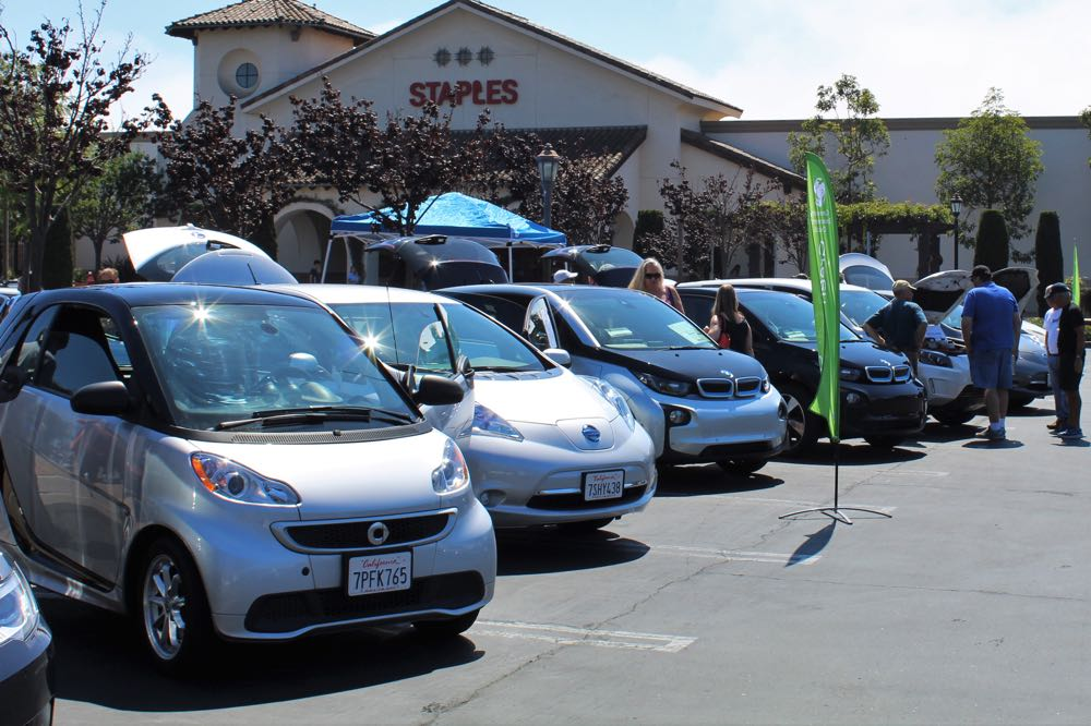 Put on by the Community Environmental Council and the Santa Barbara County Air Pollution Control District, Sunday's Goodland Drive Electric Car Show in Goleta displayed nearly 20 of the most popular EVs on the market.