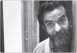 South African playwright Athol Fugard.