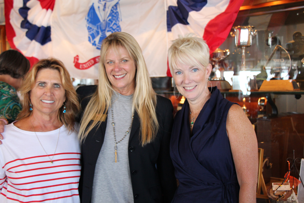 Cindy Martin, from left, Gail Young and Kathy Smith.