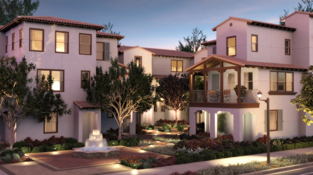 City Ventures' Santa Barbara East Beach Collection at Montecito Street and Calle Cesar Chavez offers units ranging from 972 to 2,210 square feet with up to three bedrooms and 3½ baths.