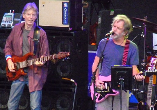 <p>Further&#8217;s Phil Lesh and Bob Weir treated the Santa Barbara Bowl to the tunes of the Grateful Dead on Monday night. <a href=