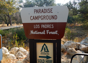 An Adventure Pass, required to camp overnight, are available for purchase at Paradise Campground.