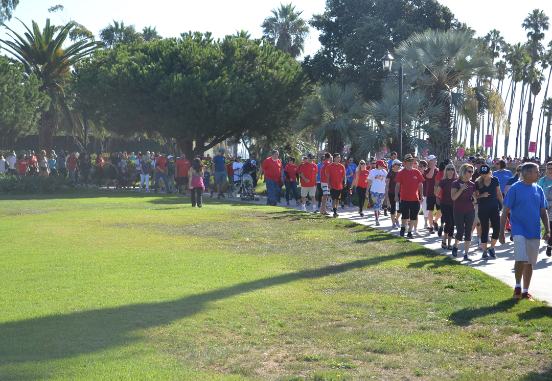 The American Heart Association's 26th annual 5K got started early Saturday at Santa Barbara's Chase Palm Park.