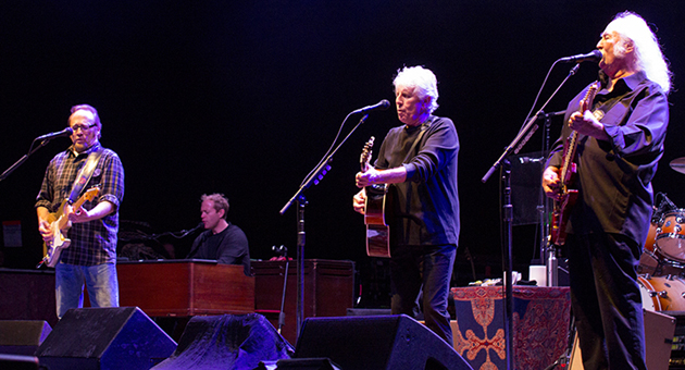 Crosby, Stills & Nash perform Friday night at the Santa Barbara Bowl. (Garrett Geyer / Noozhawk photo)