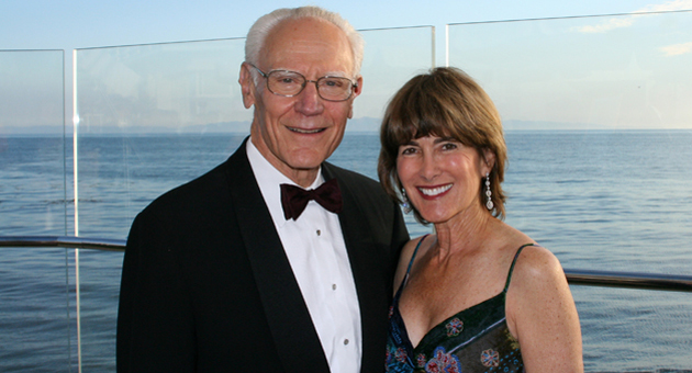 Michael and Anne Towbes were the guests of honor last Sunday evening at the