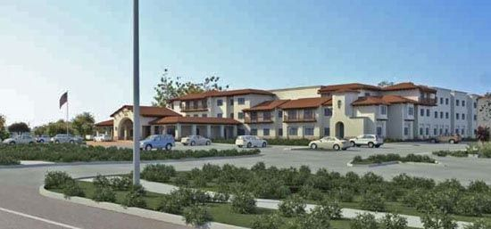 A Marriott Residence Inn in the 6300 block of Hollister Avenue may soon be more than a rendering after the Goleta City Council signed off on the project. (Marriott Residence Inn rendering)
