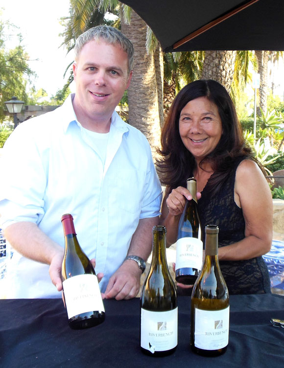 Chris Buckpitt and Emma Brinkman were on hand to pour wine from Riverbench Vineyard & Winery.