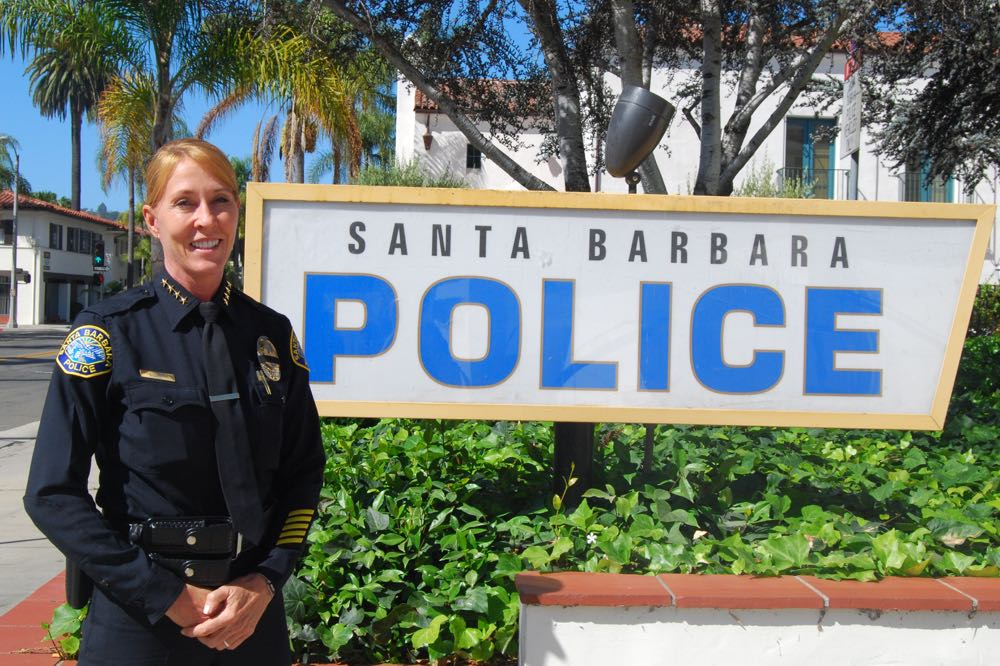 "Santa Barbara Police Chief Lori Luhnow believes community trust and collaboration are critical for the mission of a police department. ""The successes I've had in my career have been because of the contributions in the community,"" she says."