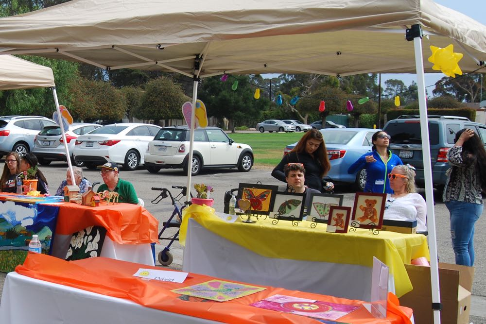 "Members of Devereux Advanced Behavioral Health California hosted a community ""Fun in the Sun"" celebration to mark the organization's 71st year in California."