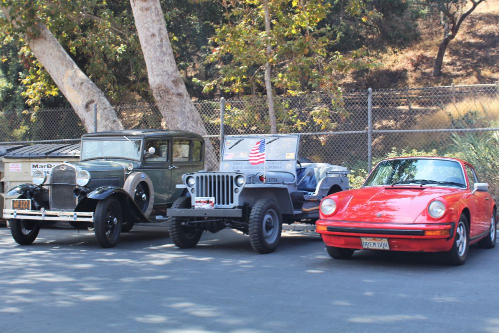A variety of vintage vehicles were on display at the annual summer picnic of the Santa Barbara chapter of the Antique Automobile Car Association.
