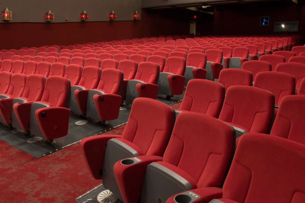 "The Riviera Theatre's new seats are wide and plush. ""There's more leg room and the seats are more comfortable,"" says Roger Durling, executive director of the Santa Barbara International Film Festival."