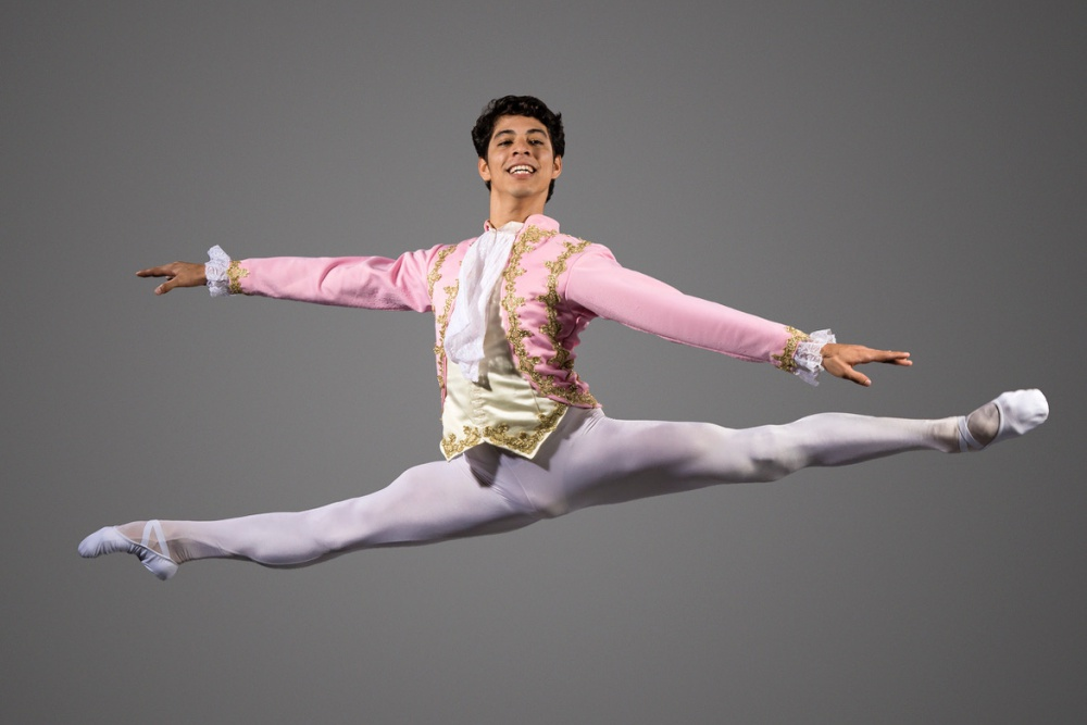 Guest artist Francois Llorente, as Cavalier, helped take this year's State Street Ballet performance of The Nutcracker to an important new level.