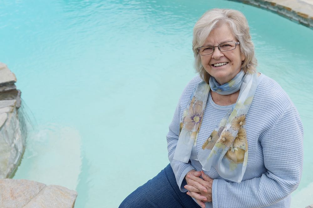 Cathy Brown's painful, arthritic knees had kept her out of the pool and the gym. Thanks to Dr. Graham Hurvitz and the Cottage Center for Orthopedics, she's back in both.