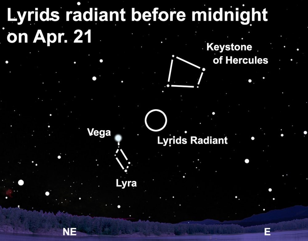 When is the Lyrid meteor shower and how to watch it?