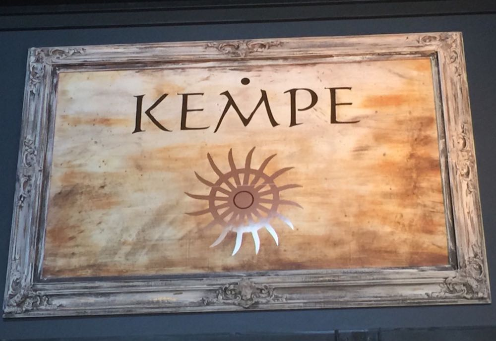 The Kempe label includes pinot noir and other varietals, as well as some phenomenal whites.