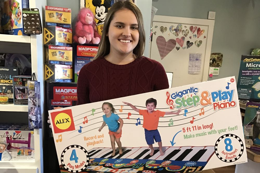 Toy Crazy, at Montecito Country Mart at 1026 Coast Village Road, has games and toys for every age. Trust the author; she knows. Sales associate Devon Fitzgibbons is happy to help.