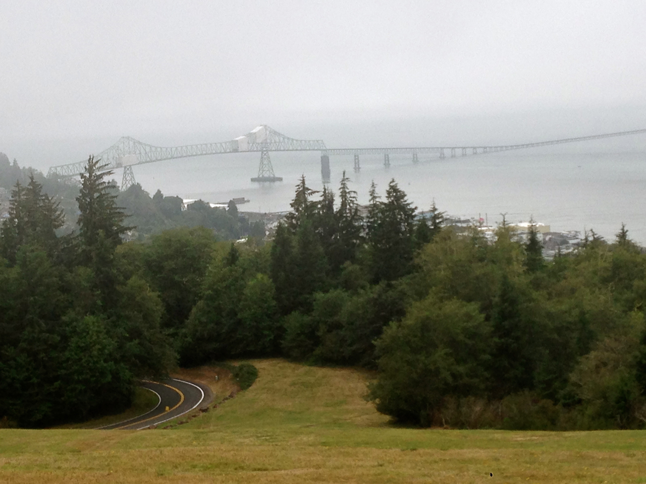At 4.1 miles, the Astoria Megler Bridge in Astoria, Ore., is the longest 'continuous truss' in the nation and connects almost 2 million vehicles a year from Astoria to Washington state.
