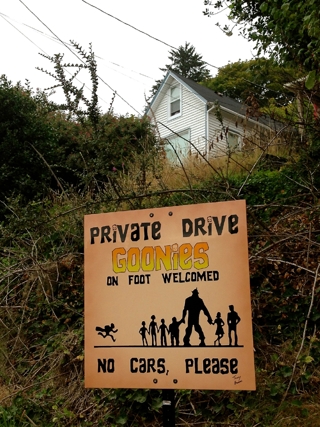 The Goonies House on 38th Street.