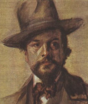 Composer Claude Debussy (Paul Robert portrait)