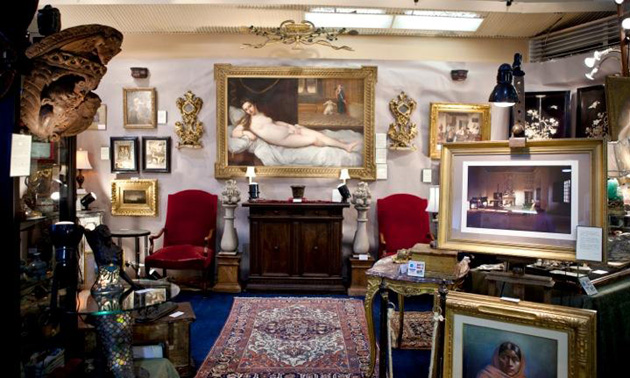 More than 80 national and international dealers will bring a large selection and variety of merchandise to the Earl Warren Showgrounds on Oct. 19-21 for CALM's Antiques & Vintage Show and Sale. (CALM photo)